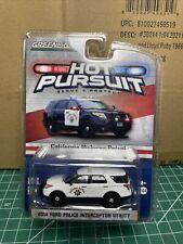 Greenlight 1/64 Hot Pursuit California Highway Patrol PCM Exclusive Polar Bear