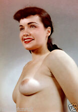 Bettie Page Early  Nude Torso Portrait  5 x 7  Photograph