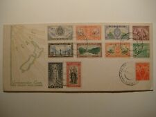New Zealand.Lot of 4.FDC Peace 1946,Health 1944.Jamboree 1966.Reg.1963 to Canada