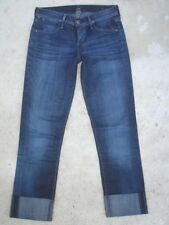 Citizens of Humanity Jeans Dani Cropped Straight Leg Sz 24 Skinny Capri