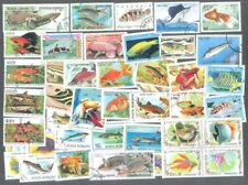 Fish- 100 all different stamps collection