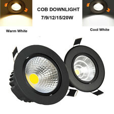 Recessed LED Ceiling Downlights COB Spot Light Lamp Indoor 7W9W12W 15W 110V 220V