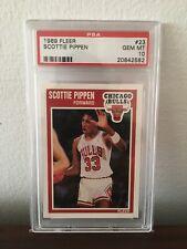 1989 Fleer Scottie Pippen #23 PSA 10