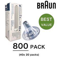 800 X braun Pièce de Rechange Filtre Objectif Sonde Housses pour Thermoscan
