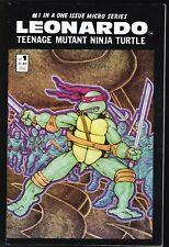 TEENAGE MUTANT NINJA TURTLES LEONARDO # 1 1986 COMIC  EASTMAN LAIRD'S MIRAGE