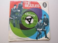 THE BEATLES 45 ' ALL MY LOVING / I WANNA BE YOUR MAN ' GERMANY WITH ORIGINAL P/S