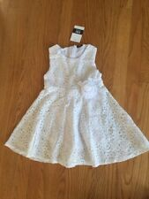 Girls Toddler Baby Flower Princess Party Pageant Wedding Dress Size 4-5 y O19