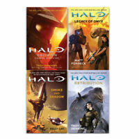 Halo Master Chief 4 Books Collection Set Legacy of Onyx,Retribution,Oblivion NEW