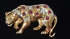 Animals Gold Vintage Costume Jewellery