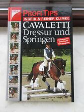 Cavaletti Dressur und Springen von Ingrid & Reiner Klimke  Reitlehre