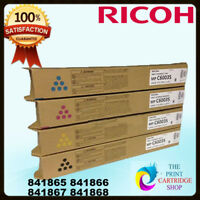 Ricoh Afficio 841865 841866 841867 841868 CYMK TONER SET MPC6003 C5503 C4503