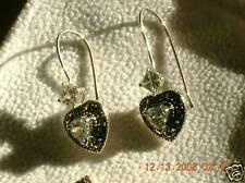 Marcasite zirconia wire earrings Taylor Avedon 925 Ss