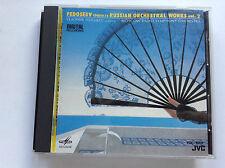 RARE JAPANESE FEDOSEEV RUSSIAN ORCHESTRAL WORKS VOL 2 JVC CD OBI MINT 1986