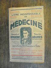 Livre indispensable de médecine Conseils d'hygiène Régimes Docteur Delondre Pari