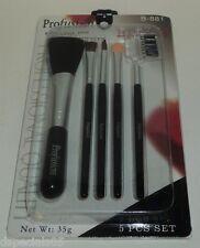 PROFUSION Cosmetic 5 Piece Brush Set B-881 NIP