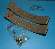 NEW BRAKE LINING KIT Allis Chalmers 170 180 185 190 D19 D21 Tractor BLKAD17 (AF)