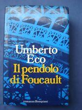 UMBERTO ECO-IL PENDOLO DI FOUCAULT-BOMPIANI 1988-PRIMA EDIZIONE