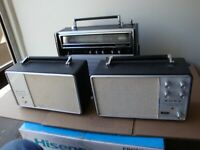 Sony STA-10 and SSA-10, FM Stereo Adaptor And Speaker. Same as 11? Rare. Vintage