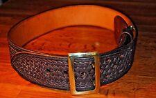 Triple K Sam Browne Leather Duty Belt