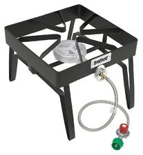 Propane Single Burner Outdoor Chef Gas Cooker Steel Stove Fryer Patio Camp NEW