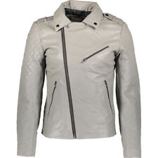 EACH X OTHER PARIS Quilted Arm Leather Biker Jacket BNWT