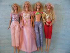Barbie Puppen 4 Stück