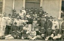 Militaire Carte PHoto soldats 37 ème Régiment à Nancy