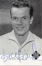 Autogramm - Detlef Engel (60er Jahre)