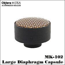 Oktava MK-102 Black Front Address Large Diaphragm Capsule - MK-012 - New