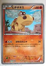 Hippopotas ヒポポタス 013/027 Holo Pokemon Legendary Brillant Collecte Japonais Carte