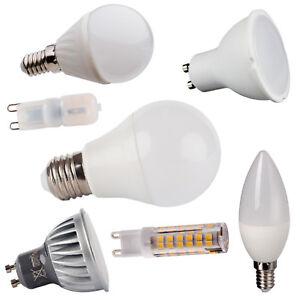 GU10 G9 E14 E27 LED 1,5W-22W Leuchtmittel Lampe Lampen Spot Strahler Birne Kerze