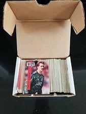 1990-91 Pro Set ENGLAND SOCCER complete card set (328) Great shape!