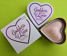 Makeup Revolution I Heart Blushing Hearts Baked Bronzer Highlighter 10g Goddess of Love