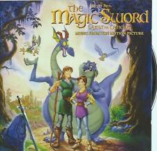 CD album THE MAGIC SWORD  FILM / MOVIE SOUNDTRACK OST BOF CELINE DION  BOCELLI
