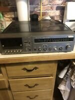 Quasar Vintage Integrated Audio System Turntable/Cassette/Stereo Model CS7120