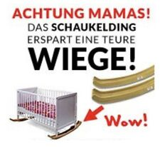 """""""SCHREIBABYS ADE"""" Dieses geniale Köglis-Schaukelkufen-Konzept schafft das😴"""