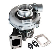 Universal T3 T4 T04E Turbo Turbocharger .57 A/R Oil Cooled for 1.6 to 2.3L 400HP