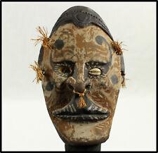 Vintage Iatmul Sepik River figural dagge figure Papua New Guinea carved painted