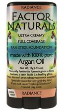 Factor Naturals Radiance #208 Pan stick foundation w/Argan oil(not max factor)