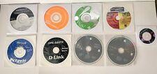 Random lot of 8 Computer Software PC/Mac Software Discs *Fast Free Ship*