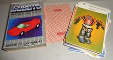 GOBOTS vintage SUPER ROBOTS / VEHICLES Argentina cards set 1990