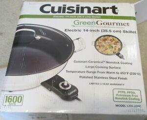 Cuisinart CSK-250WS GreenGourmet 14-Inch Nonstick Electric Skillet