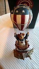 Boyds Resin Bearstone~Betsy B. Bearamerica.Celebrate America~New~Fob 2002~Ret.