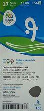 Ticket 17.8.2016 Olympics Rio Diving High Diving #E56