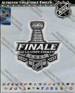2021 STANLEY Coupe Finale Officiel Patch Français Style Montreal Canadiens