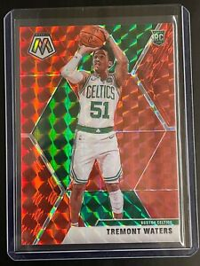 #/88  TREMONT WATERS  RC  ▪ 2019-20 Mosaic Choice  RED FUSION Prizm #214  Rookie