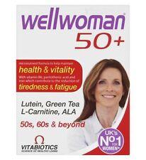 3x Vitabiotics Wellwoman 50 Health & Vitality 30 Tablets