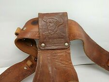 1950's Cheyenne Leather Cap Gun Holster