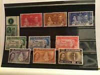 Montserrat mounted mint and used stamps R21729