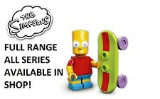 Lego minifigures bart simpson the simpsons series 1 (71005) new factory sealed